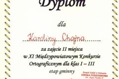 dyplom - k. chojna
