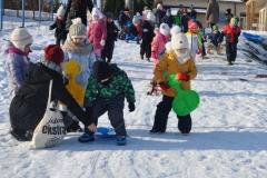 Zabawy na sniegu